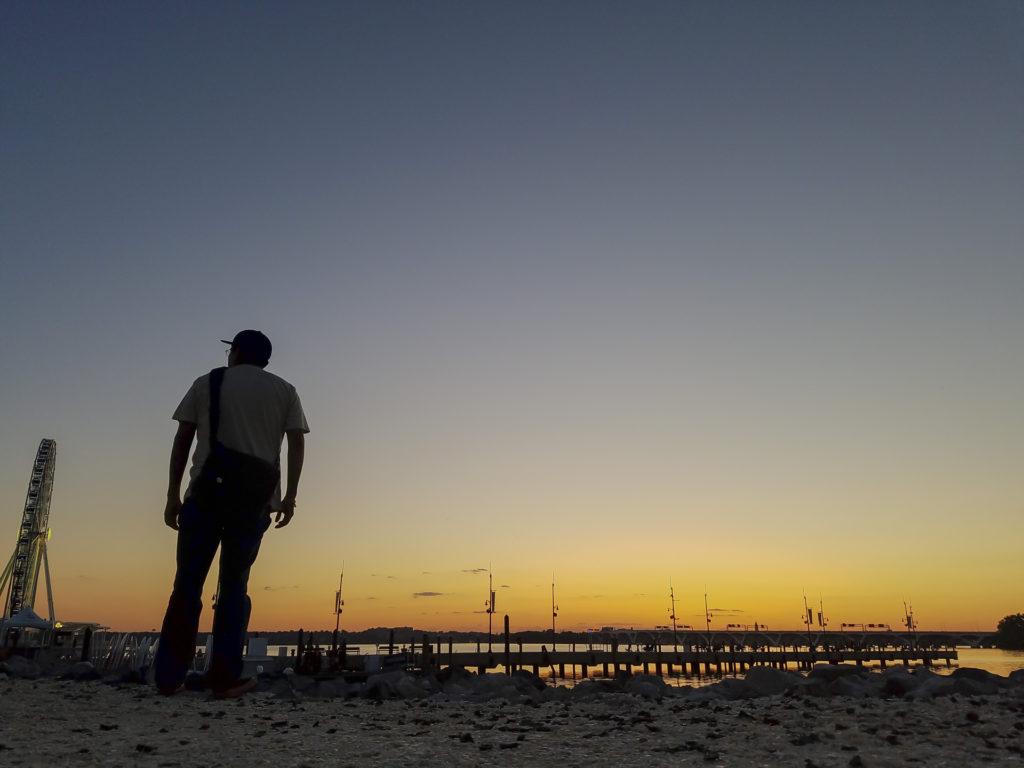 Danny on the Beach